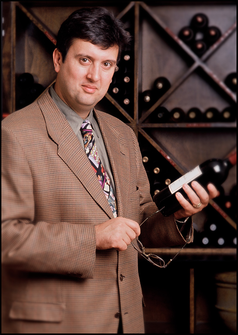 Wine_man_Editorial Portrait